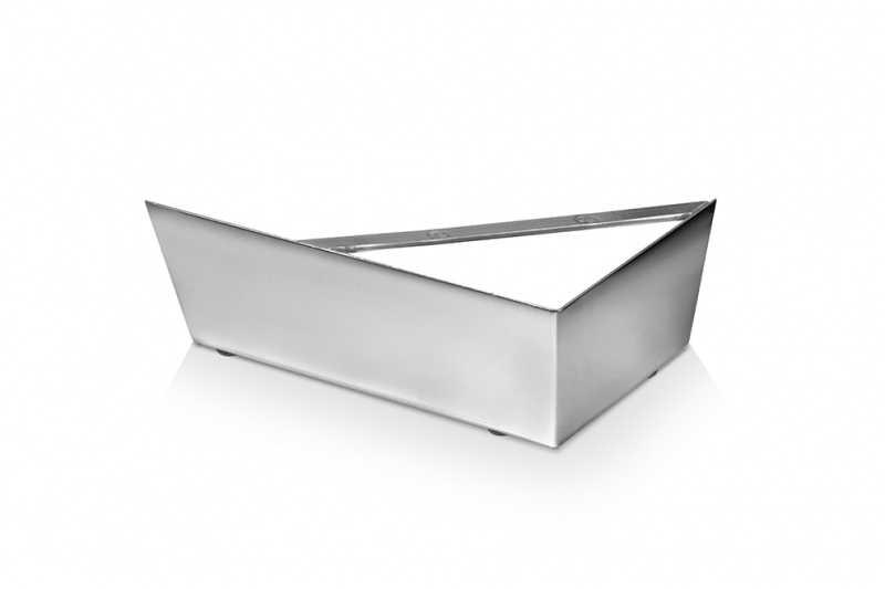 Pé Cantoneira cód PA-02 alumínio