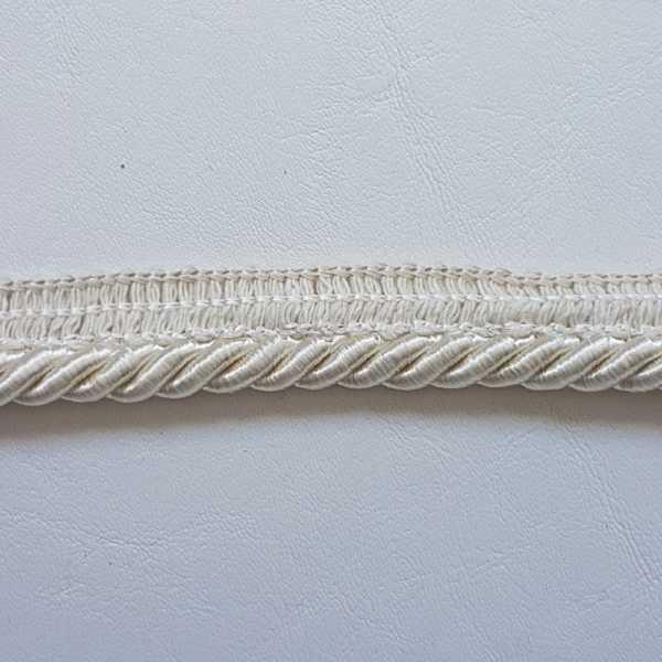Cordão com Debrum 8mm DB-4006 Branco
