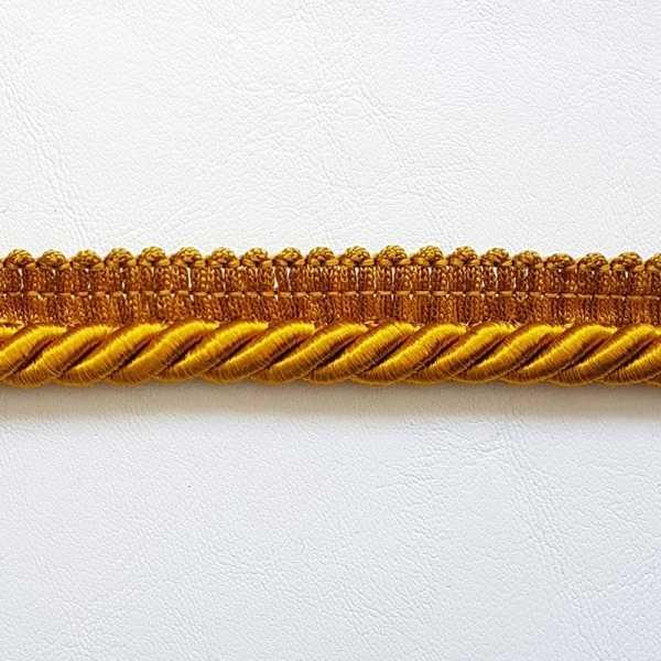 Cordão com Debrum 8mm DB-1029 Ouro Velho