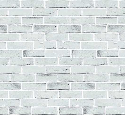 Tecido para Parede - Brick Branco