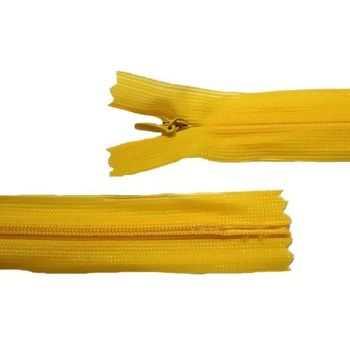 Zíper Invisível Amarelo