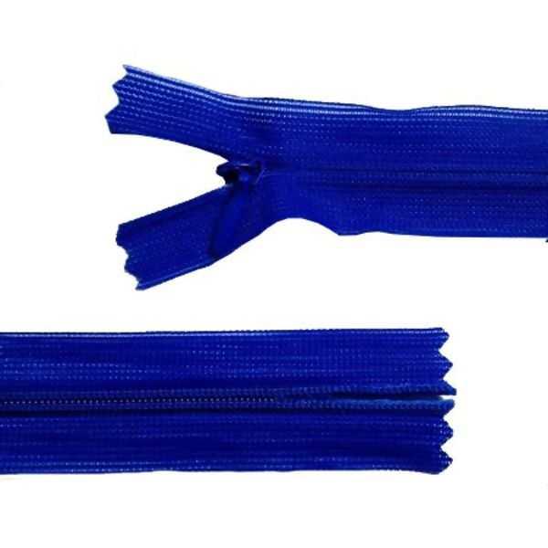 Zíper Invisível Azul Royal