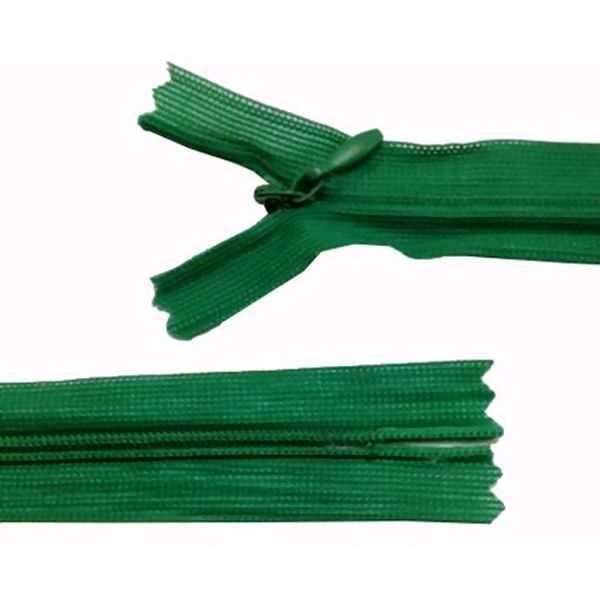 Zíper Invisível Verde