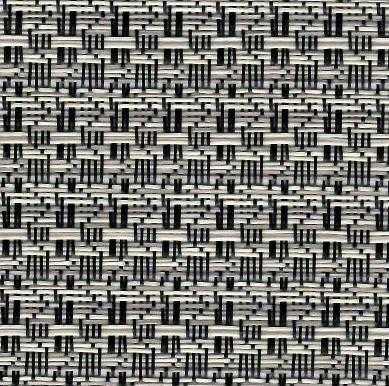 Tela para Espreguiçadeira 7880 cor 56 Mescla Preto / Bege
