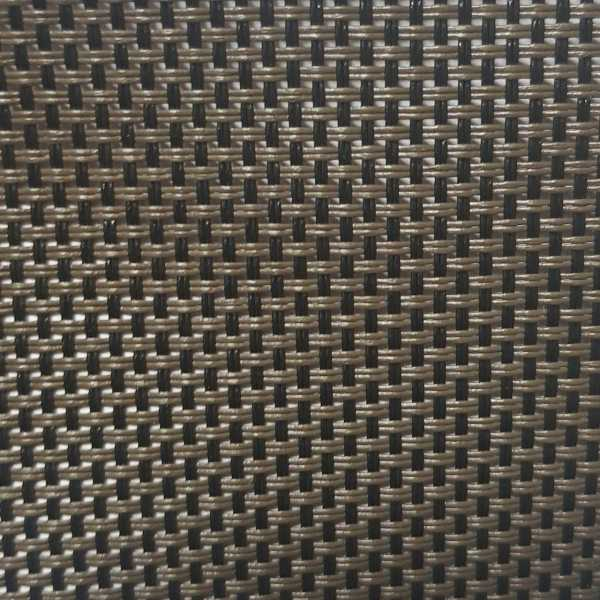 Tela para Espreguiçadeira 7880 cor 36 Marrom / Preto