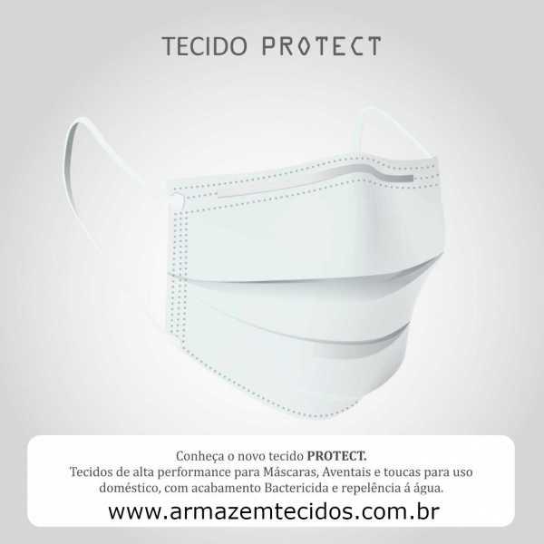 Tecido Protect Hospitalar Branco Alvejado