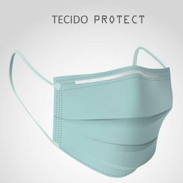 Tecido Protect Hospitalar Verde Alvejado