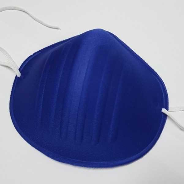 Máscara de Filtro Anatômico Azul - Und